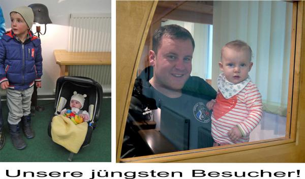 Hans Bergmann / 9__unsere_jungsten_besucher_ / Zum Vergrößern auf das Bild klicken
