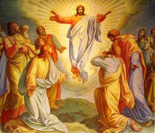 deutsch-orthodox.de / Christi Himmelfahrt / Zum Vergrößern auf das Bild klicken