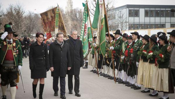 Peter Lechner / Angelobung Bundespräsident / Zum Vergrößern auf das Bild klicken