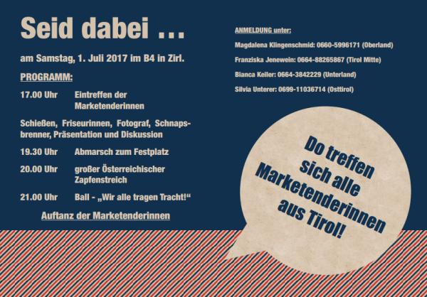 Franziska Jenewein / Marketenderinnen Treffen / Zum Vergrößern auf das Bild klicken