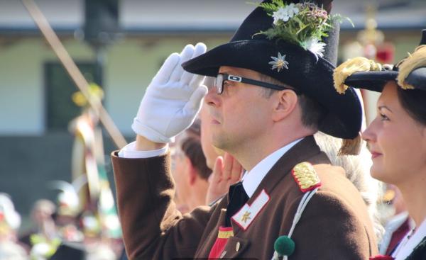 Gemeinde Zell / Gauderfest 2018 / Zum Vergrößern auf das Bild klicken