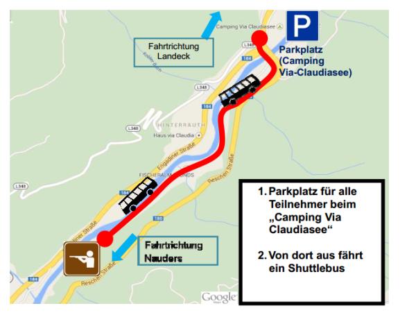 SK Pfunds / Parkordnung Regimentsschießen / Zum Vergrößern auf das Bild klicken